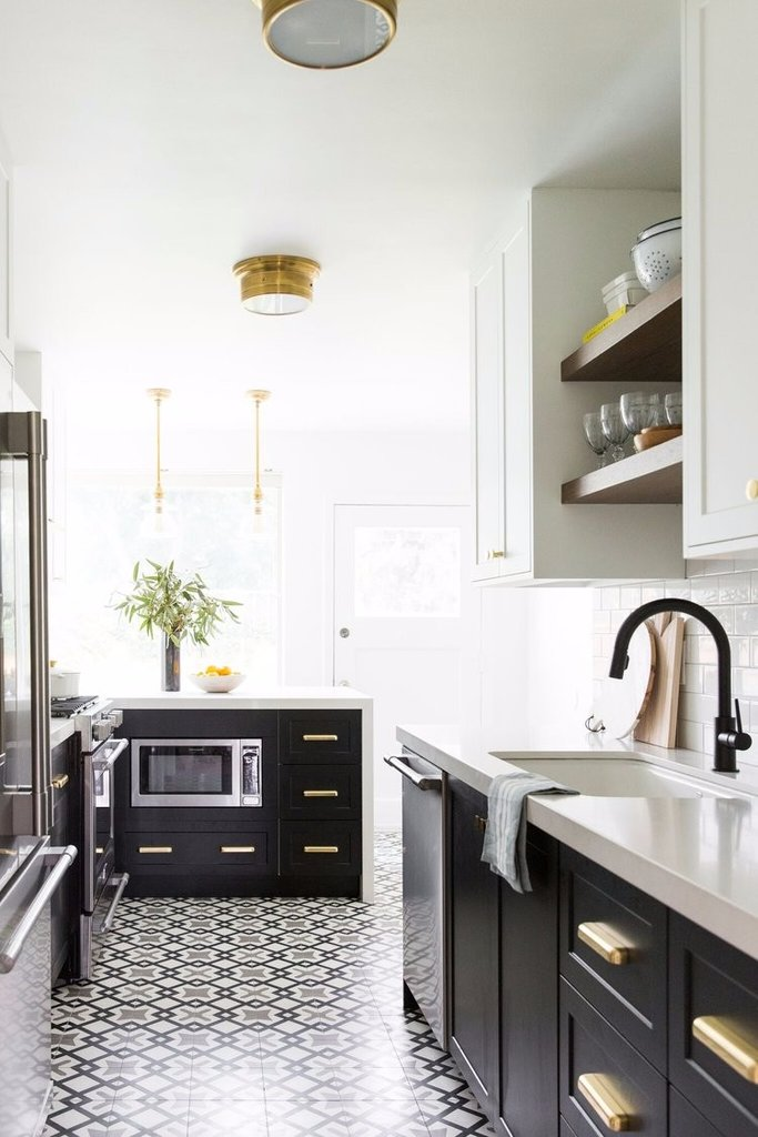 Kitchen pattern tiles Trend 2018