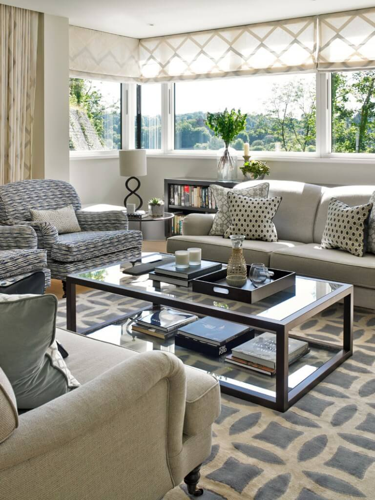 Soothing Neutral Living Room Design