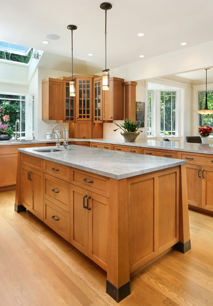 Craftsman Style Kitchen Design