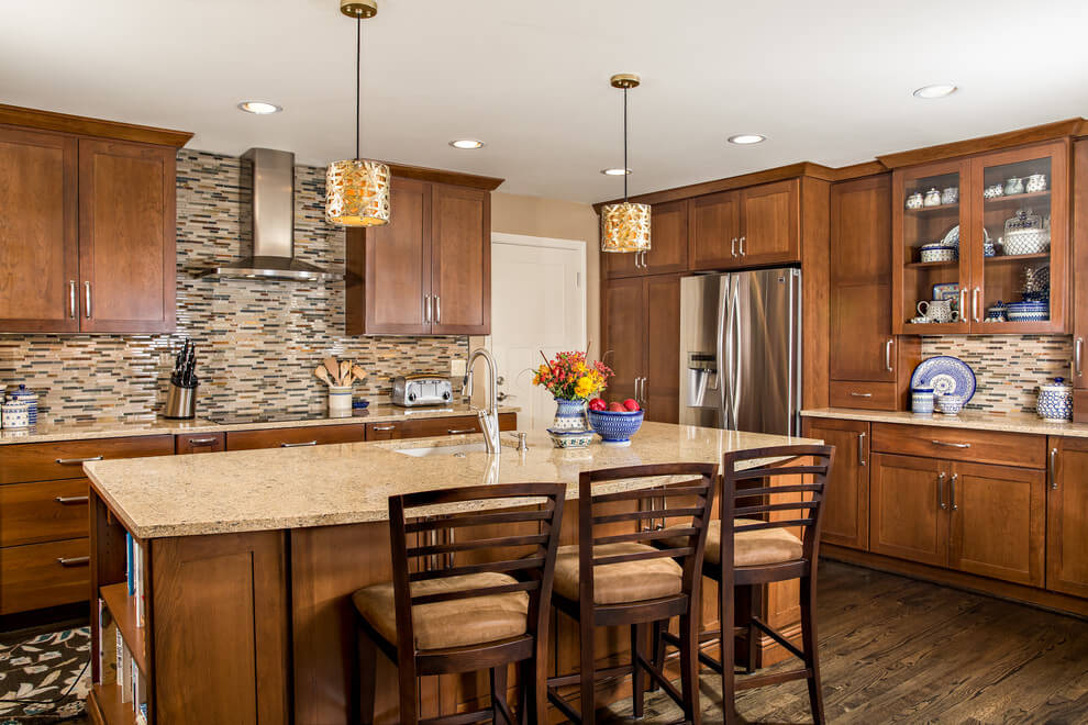 Brown Tones In Kitchen Decor