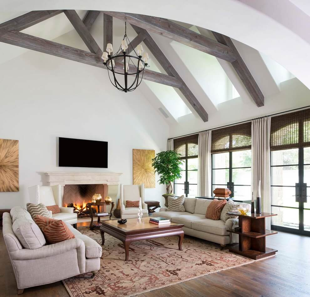 Light and spacious traditional design