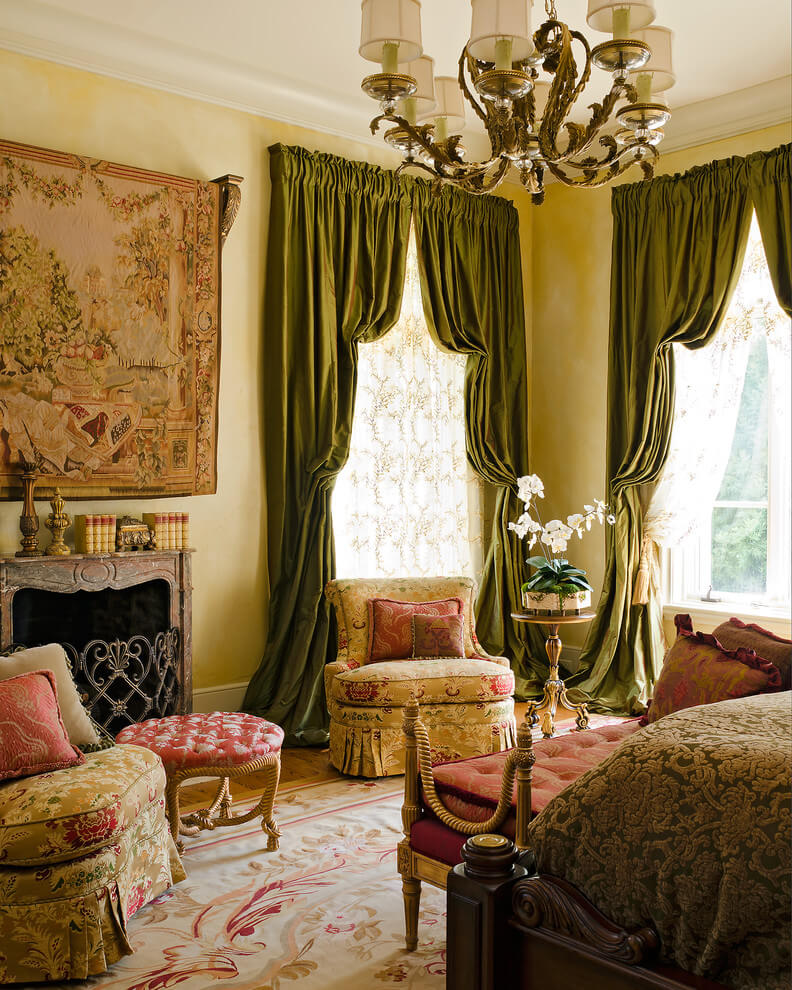 Traditional French style with bedroom design