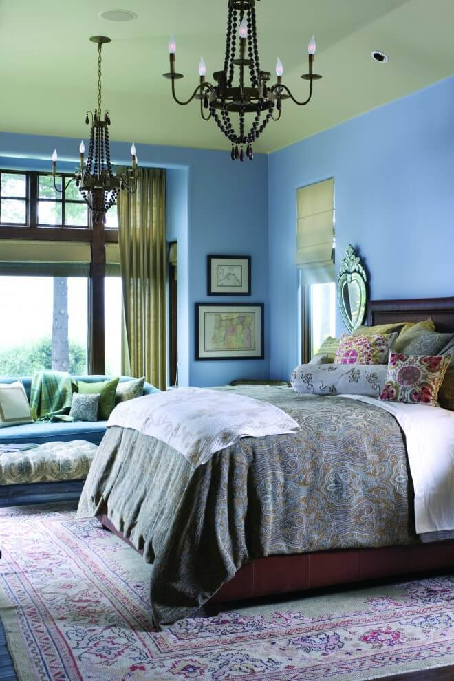 Soothing Colors Fresh Bedroom Decor