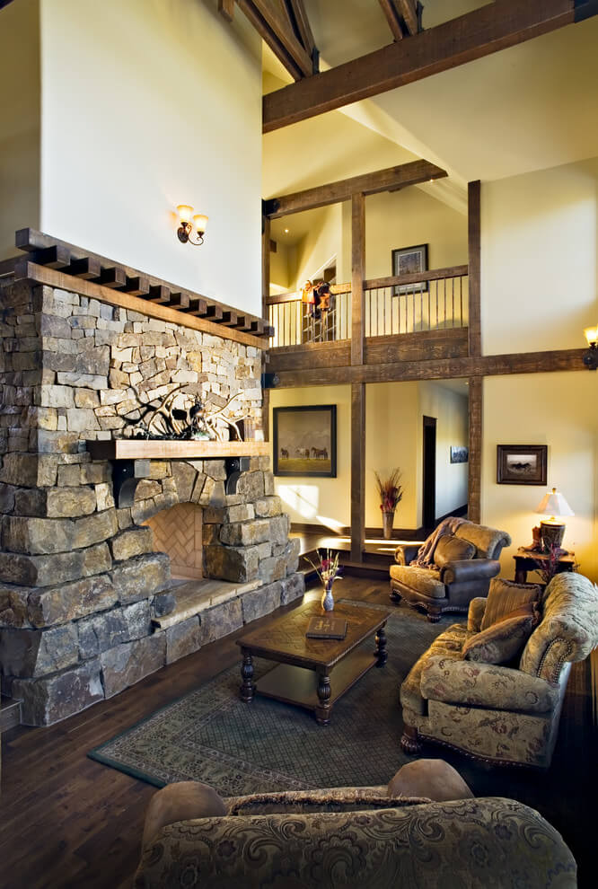 Stone eat rustic decor