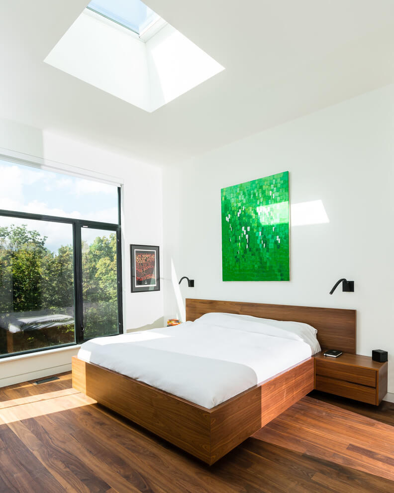 Bright and airy modern bedrooms