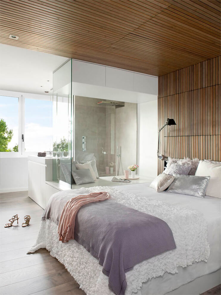 Shabby Chic Modern Bedroom Design