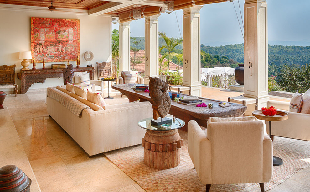 Authentic Indian touch living room