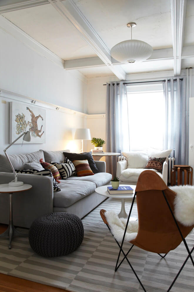 Soothing Colors Living Room Design