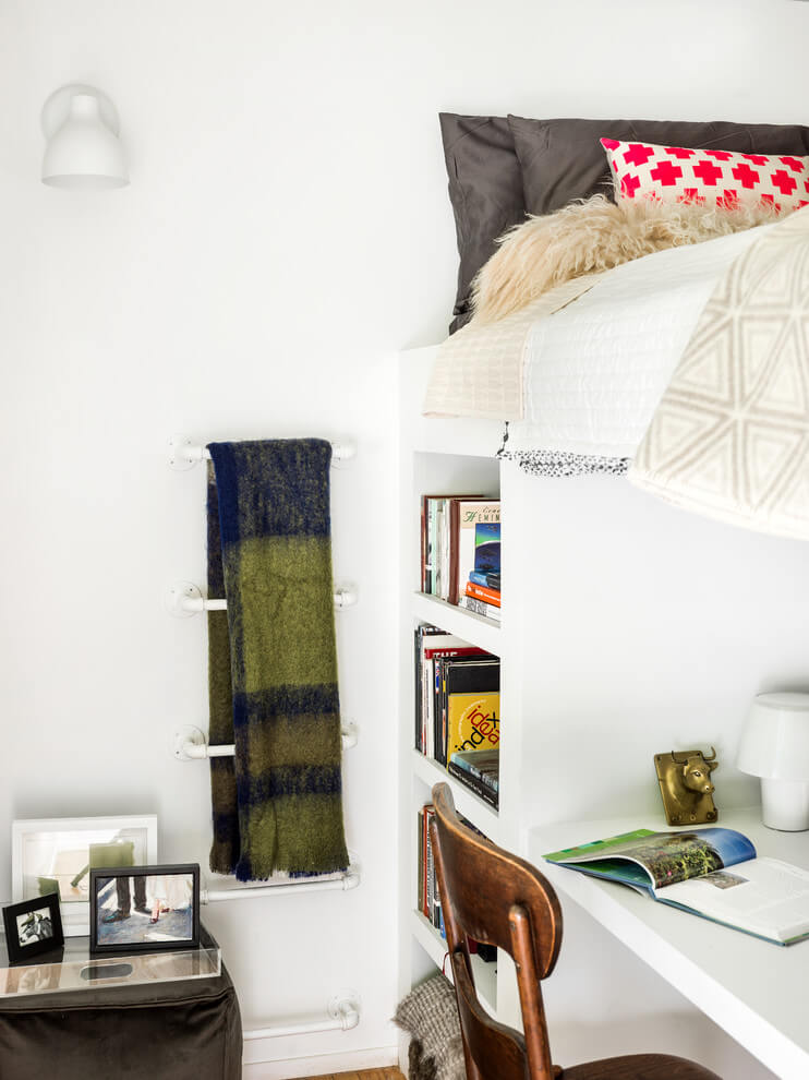 Innovative loft bed and storage