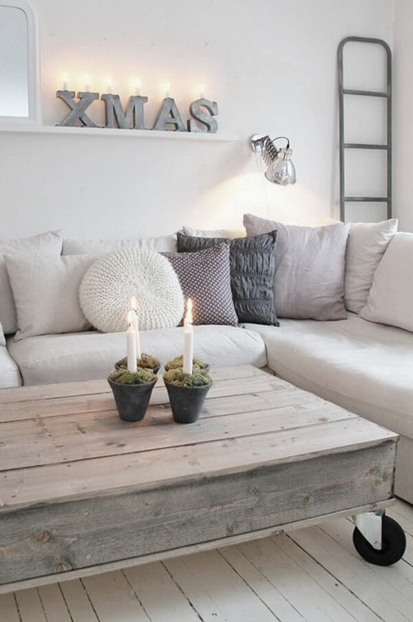 Scandinavian everyday decor