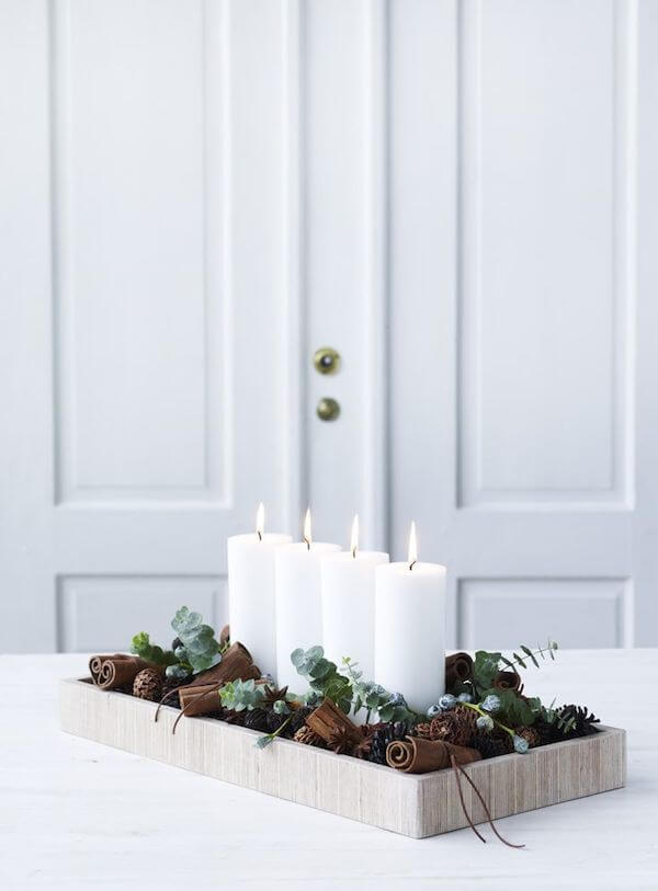 Rustic Scandinavian Christmas center