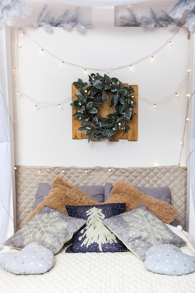 Nordic Christmas Bedroom Decorations