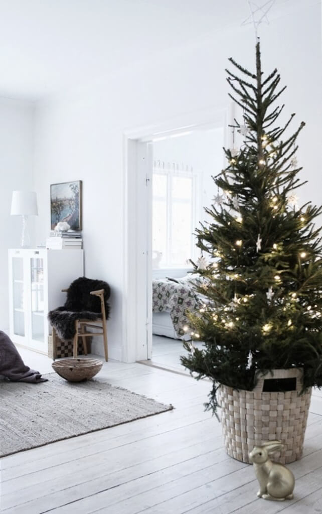 Scandinavian Minimal Small Space Decor
