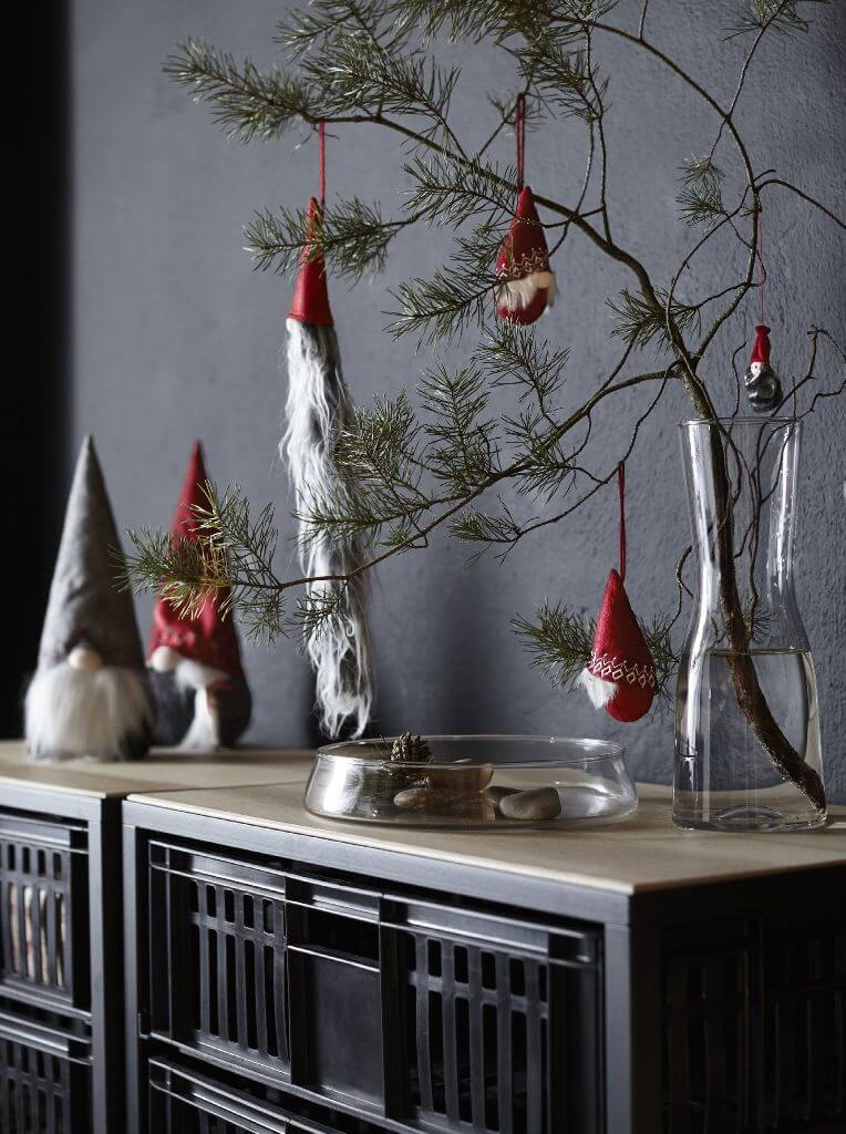 Christmas Gnomes Table Decor