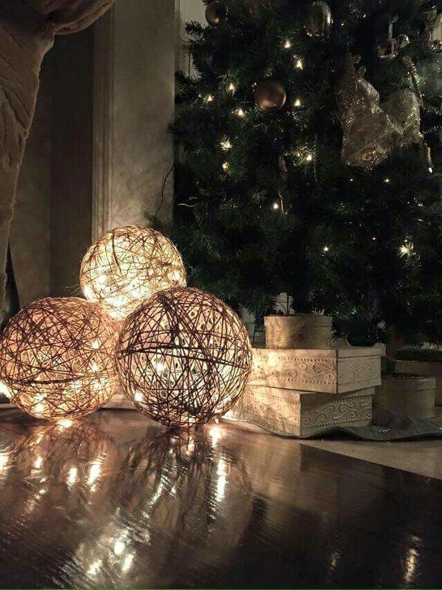 Willow Branch LED Lamp Decor