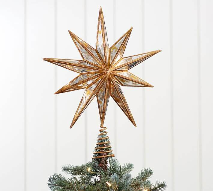 Classic Star Christmas Tree Topper