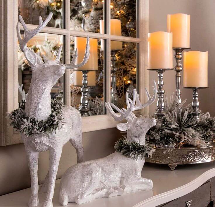Whimsical Christmas table