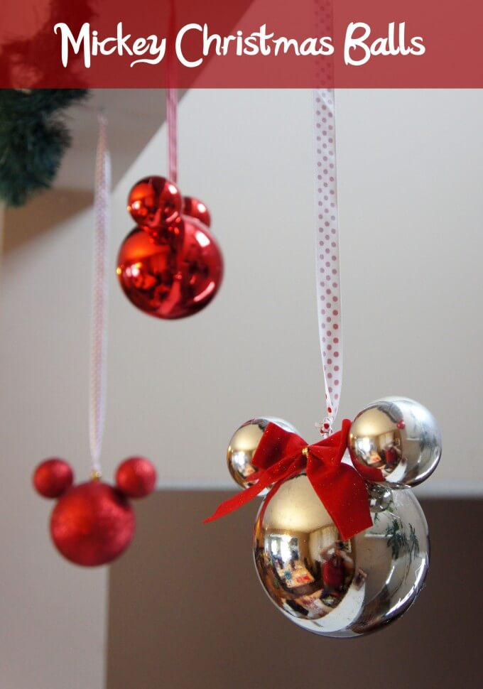 Christmas Balls Mickey Mouse Ornament