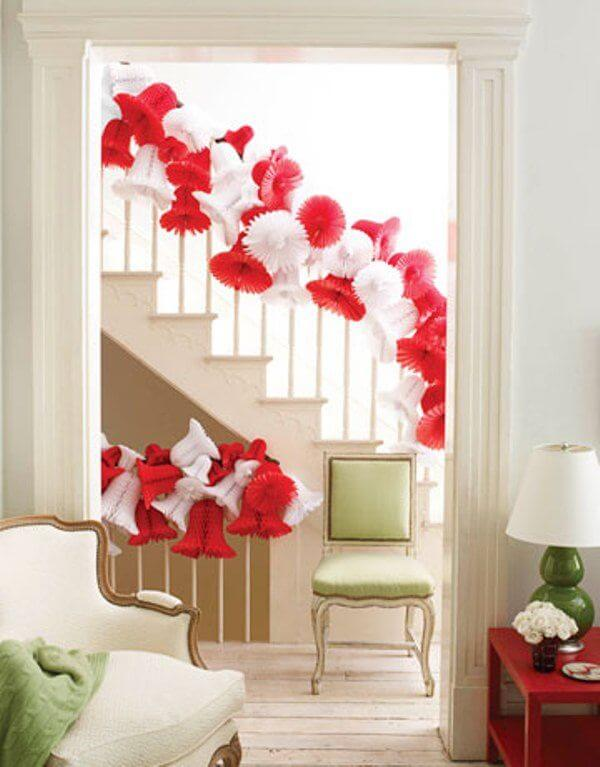 Great Jingle Bells Stairs Decor
