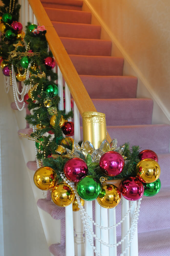 Ornamental Garland staircase