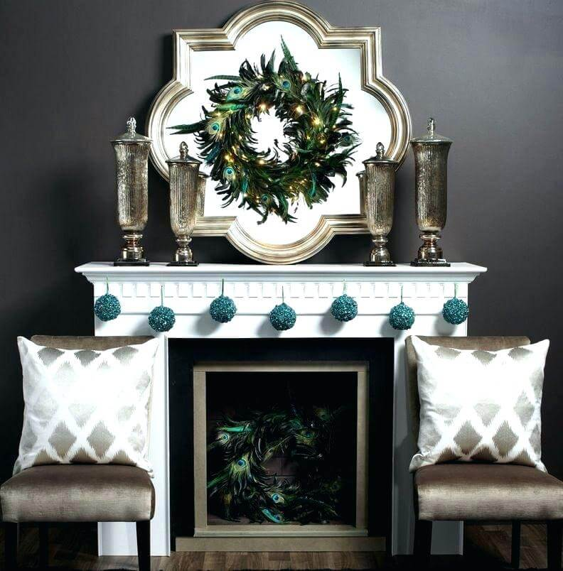 Minimal Creative Fireplace Coat Decor