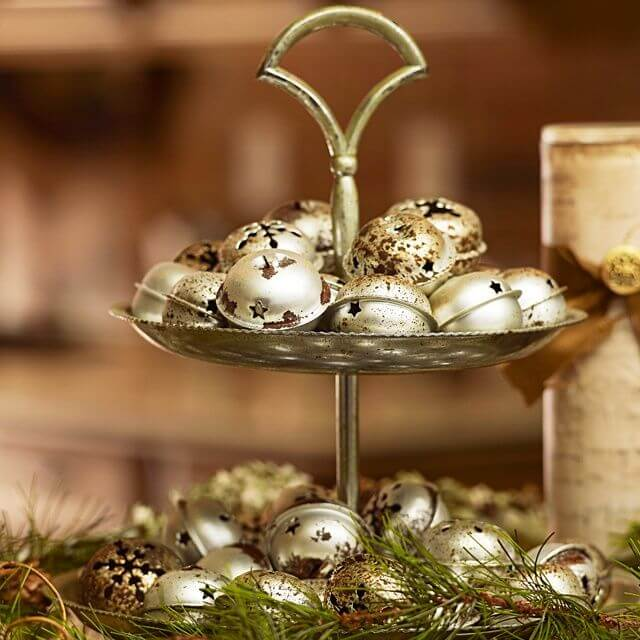 Christmas Table Jingle Bells Centerpiece