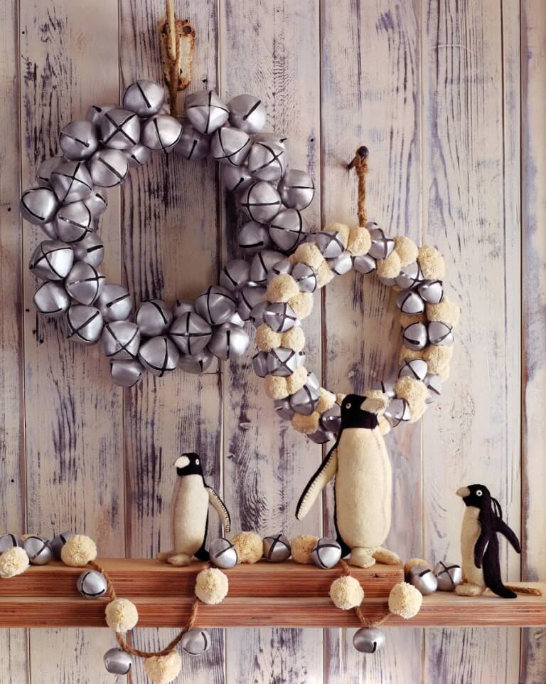 Christmas Bell's Wreath Decoration