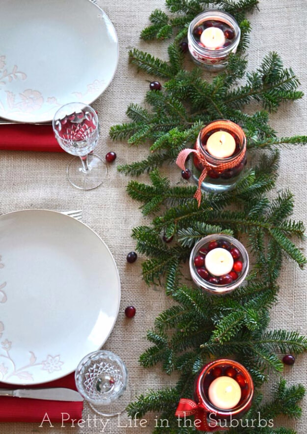 Easy DIY Rustic Christmas Centerpiece