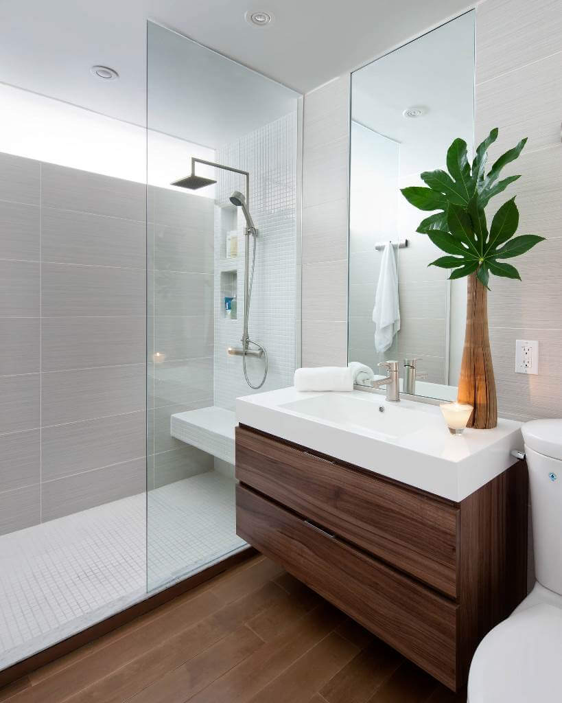 Modern small bathroom designs