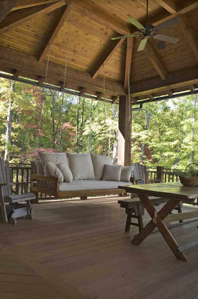 Rustic style outdoor furniture