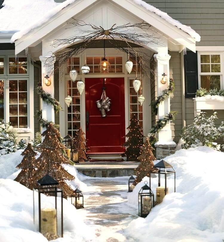 Awesome DIY Christmas Porch Decorations