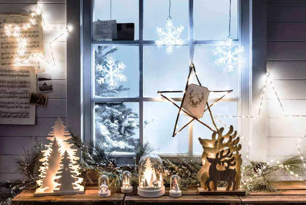 Winter Wonderland Christmas Window Decor