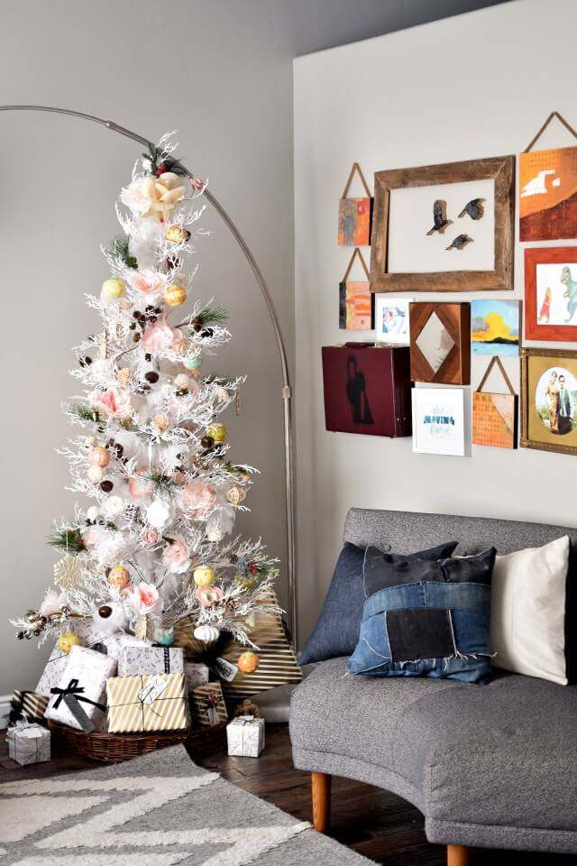 DIY Paper Ornament Minimalist Tree