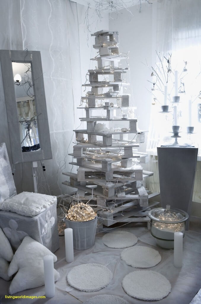 Creative DIY living room tree