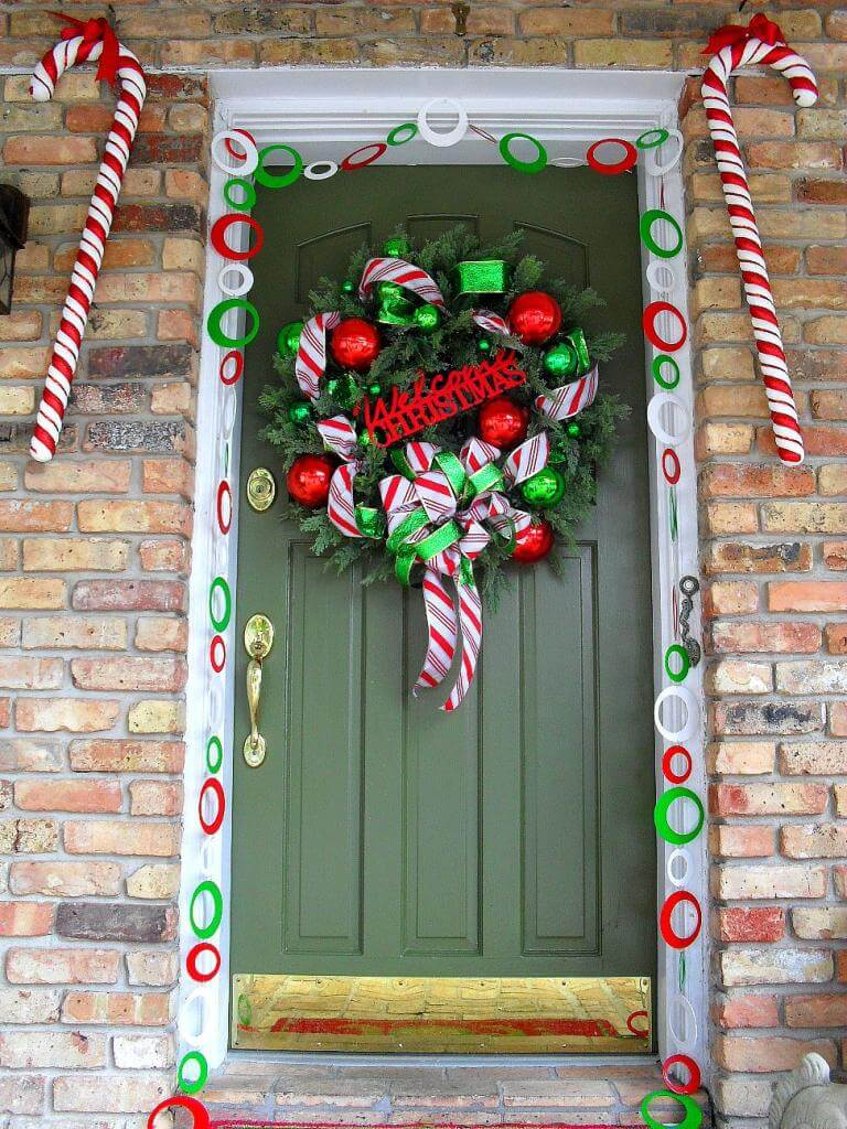 Candy Cane Christmas Outdoor Decorations