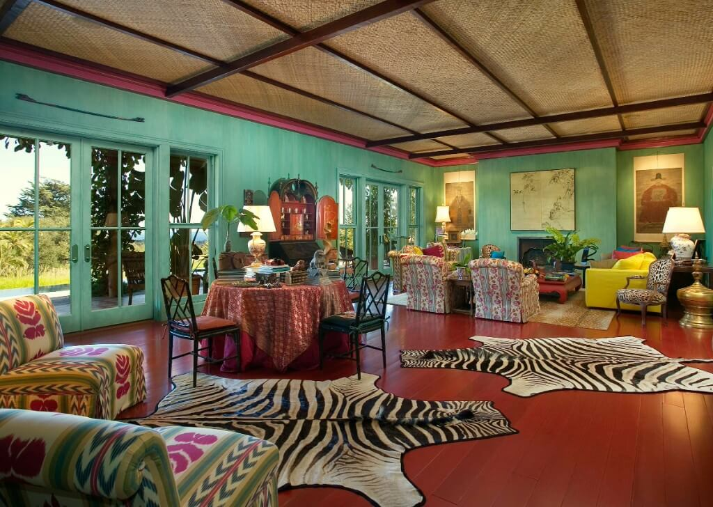 tropical colors and patterns