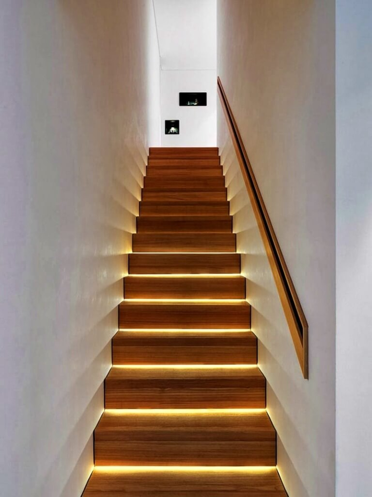 Staircase-based lighting