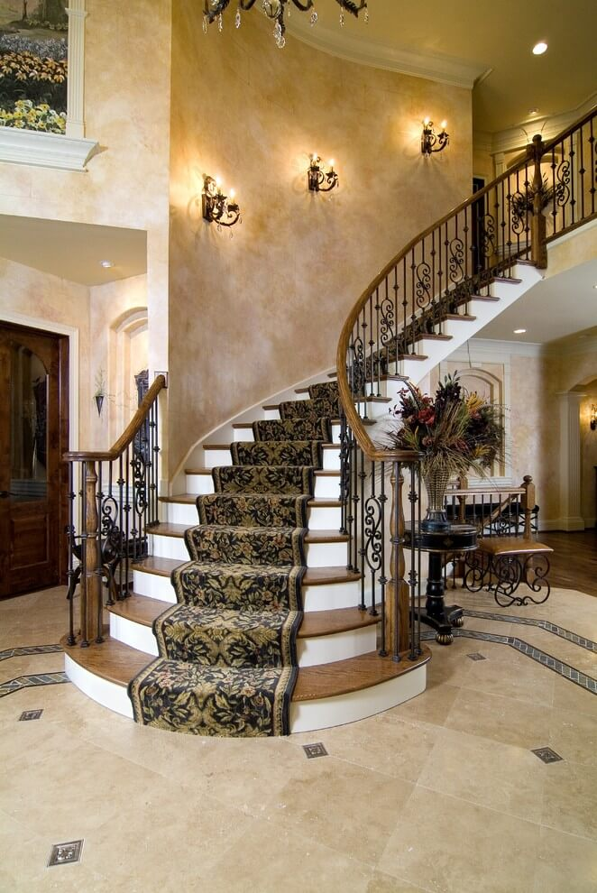 Traditional staircase wall Sconces