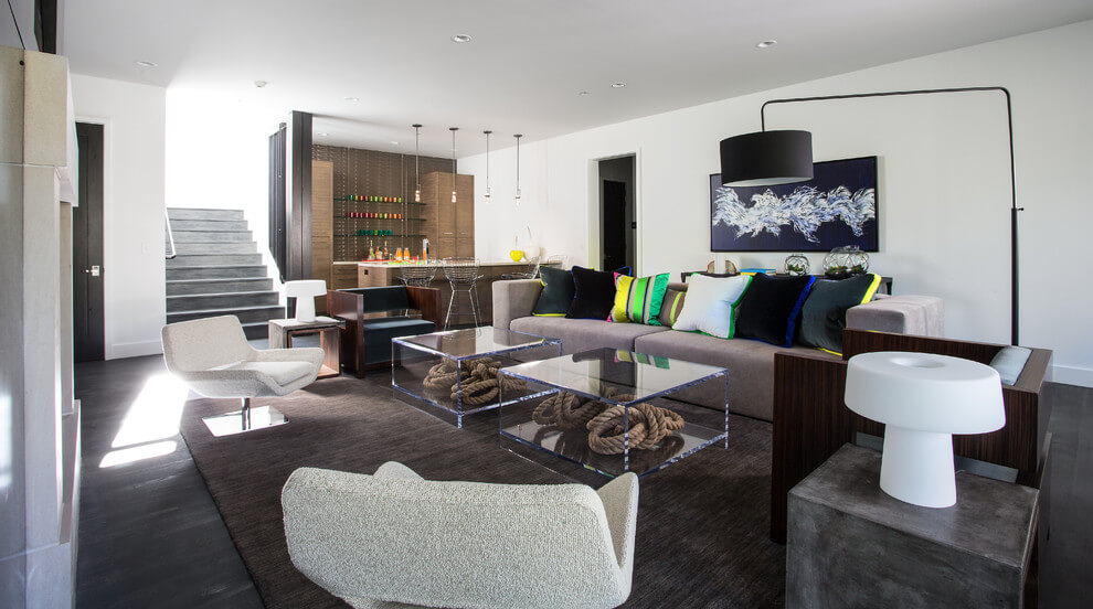 modern family room for the home