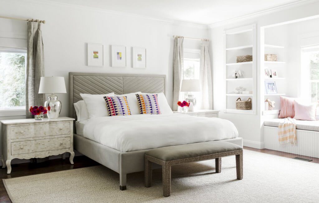 neutral gray bedroom colors