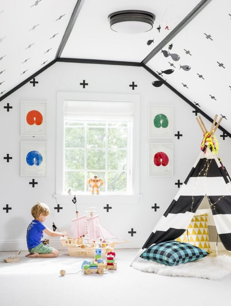 children's playroom tent