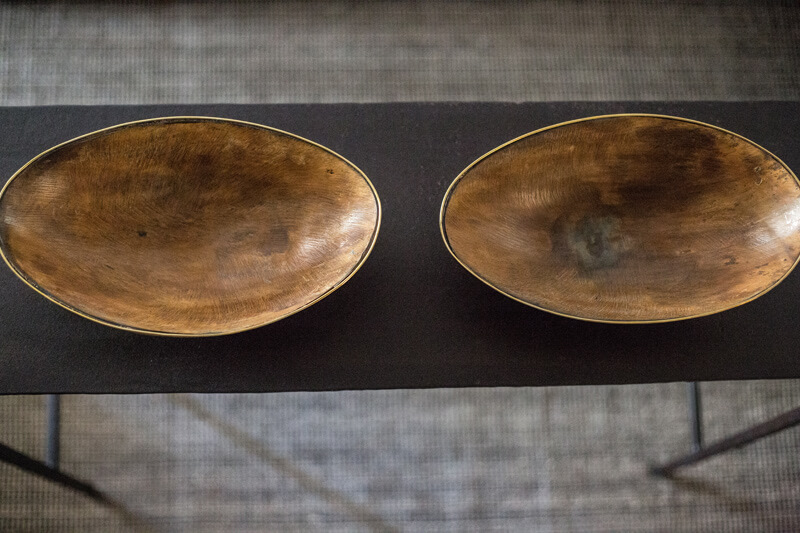 decorative wooden dishes