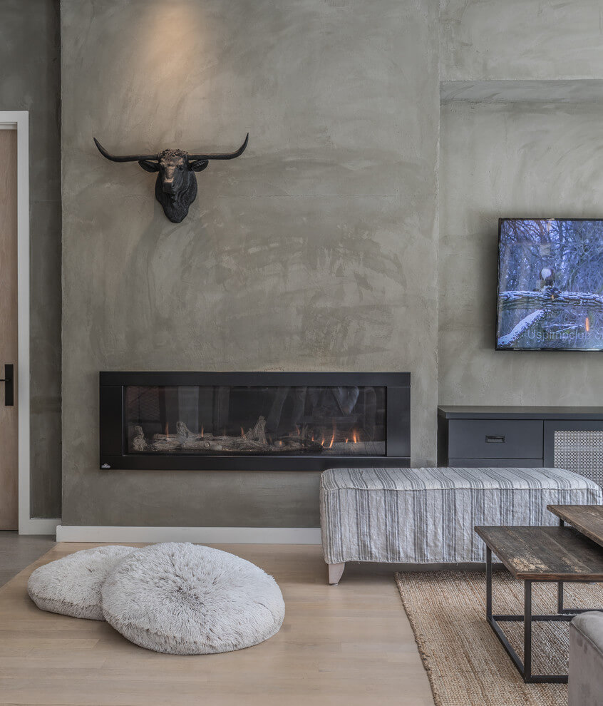 fireplace interior wall decor