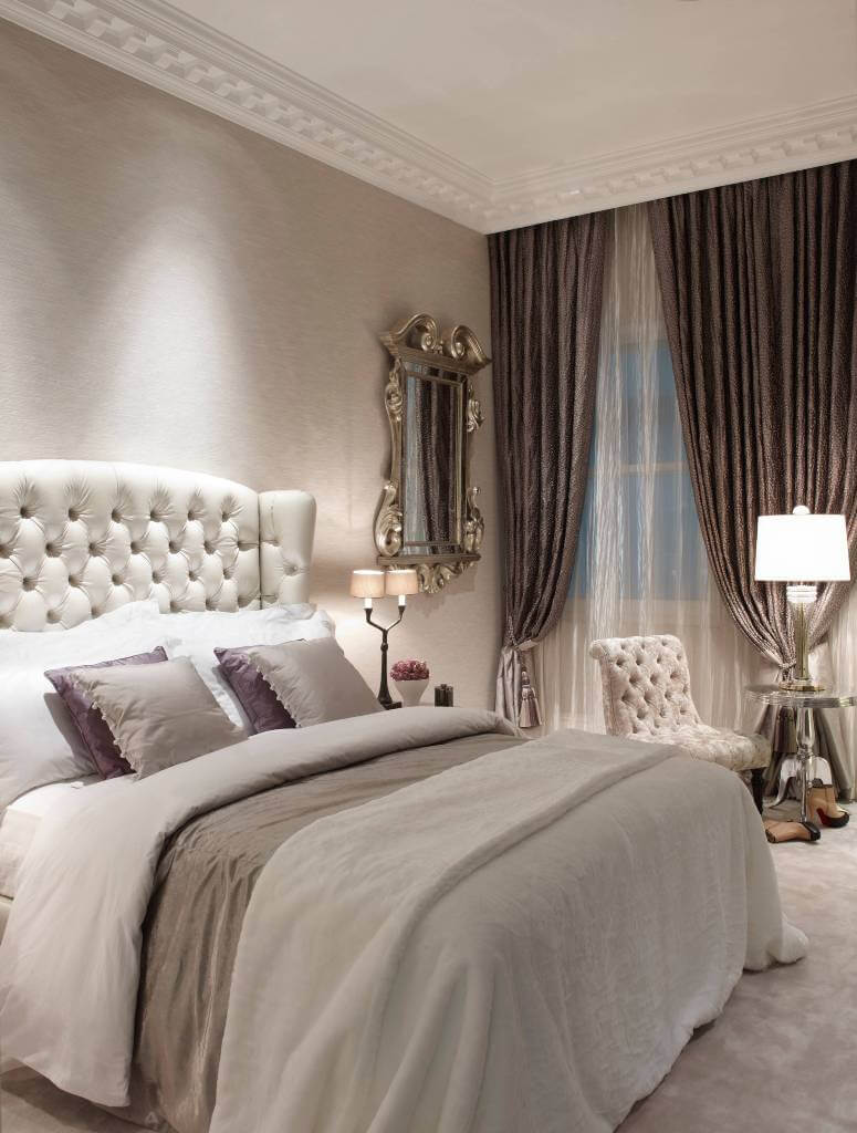 Classic Shabby Chic Style Bedroom Curtains