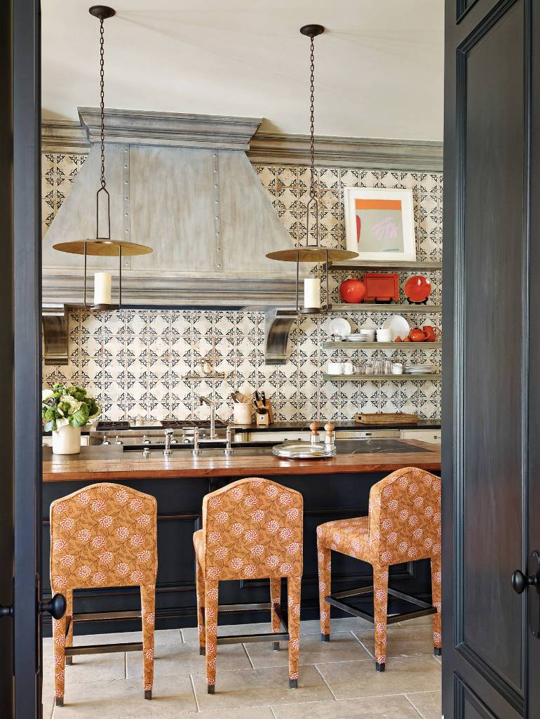 Backsplash ceramic tile kitchen design