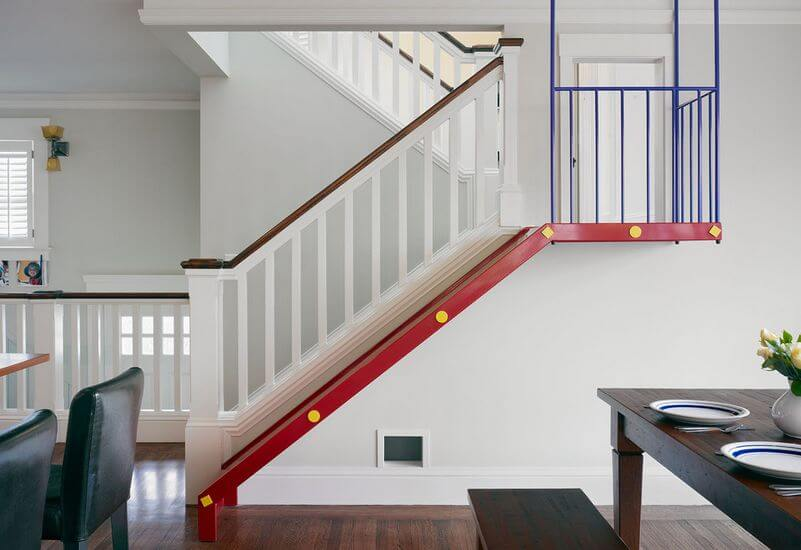 Colonial bungalow staircase Combo