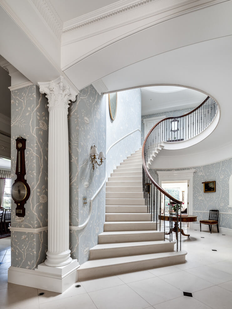 Antique and vintage staircase design