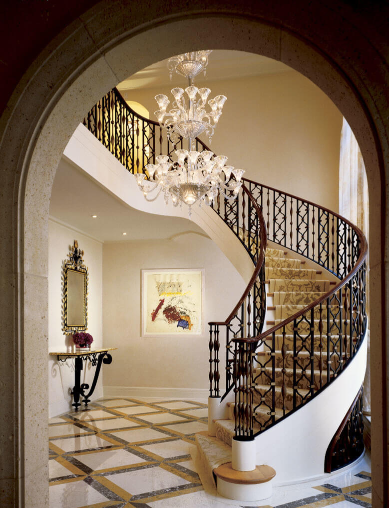 Staircase ideas for mixed materials