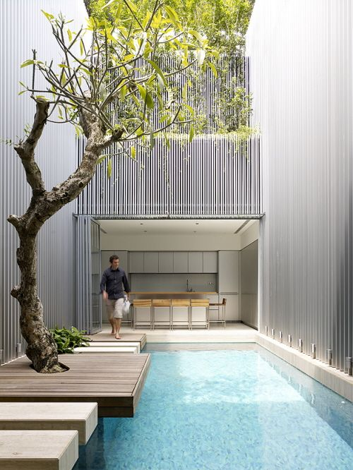 Indoor pool Connect to the outdoor