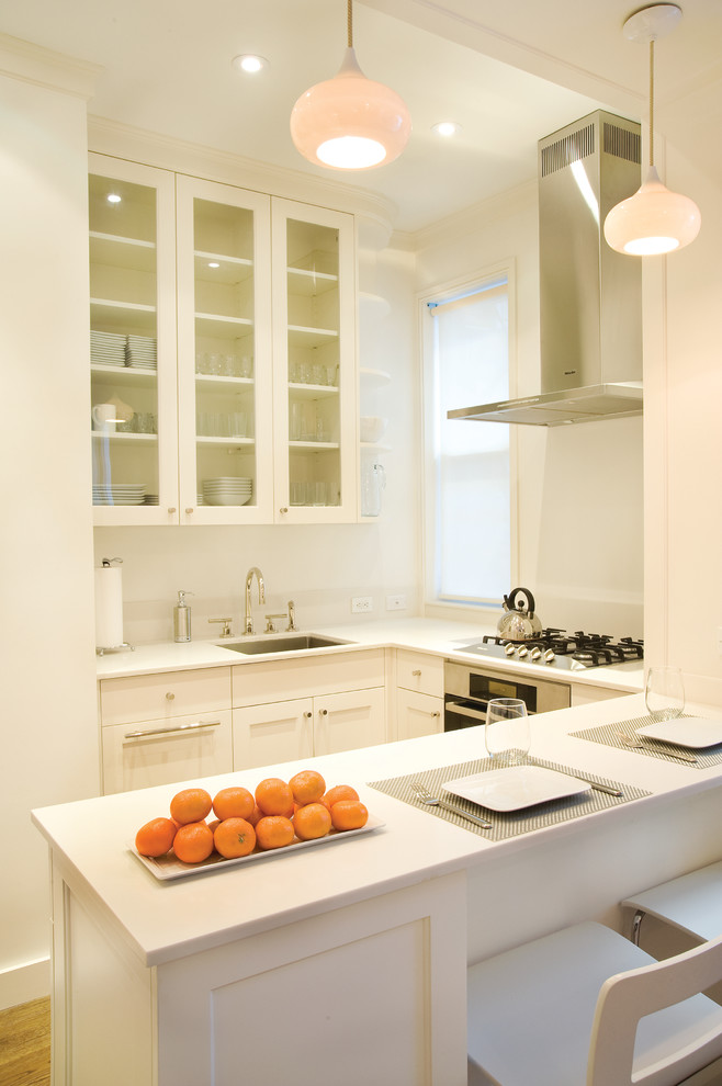 Eat in kitchen idea for small space